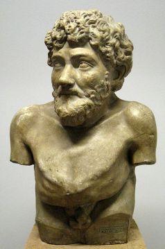 Եզոպոսի արձանը, Հռոմ, մ.թ.ա. II դար։
